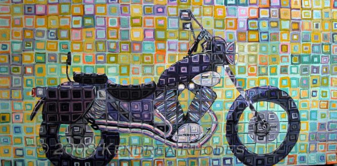 ©2008 Kendrea Rhodes all rights reserved PURPLE CRUISER www.kendreart.com