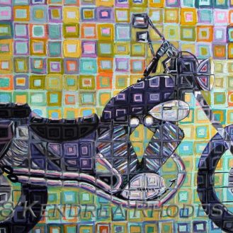 Purple Cruiser by Kendrea Rhodes