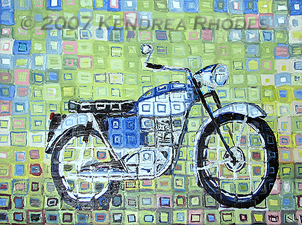 ©2007 Kendrea Rhodes all rights reserved TRIUMPH TIGER CUB www.kendreart.com
