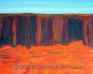Top End by Kendrea Rhodes