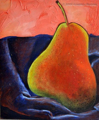 Not a pair - oil on board ©2008 Kendrea Rhodes all rights reserved www.kendreart.com