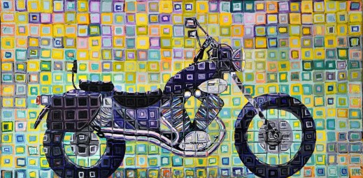 ©2009 Kendrea Rhodes all rights reserved PURPLE CRUISER www.kendreart.com