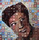 Ella Fitzgerald - Original art by Kendrea Rhodes
