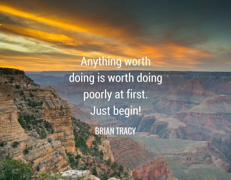 Motivation Monday 4, Motivation Monday 4 – Anything Worth Doing is Worth Doing Poorly At First