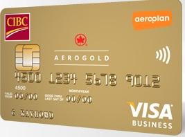 CIBC Business Aerogold VISA - 25,000 Aeroplan Miles Signup Bonus!