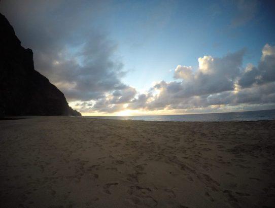 Hiking the Kalalau Trail - Day 2.5: Kalalau Beach