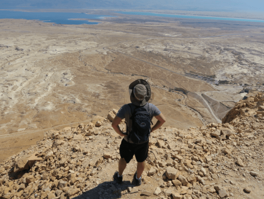 Masada - The Citadel of Mass Jewish Suicide