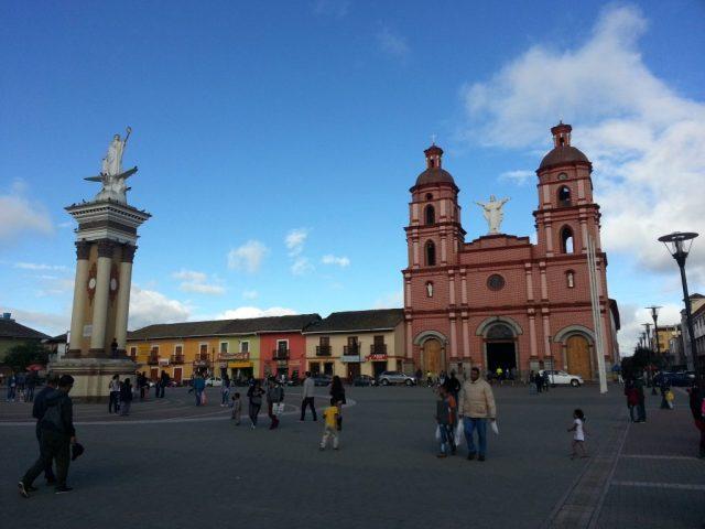 Ecuador to Colombia
