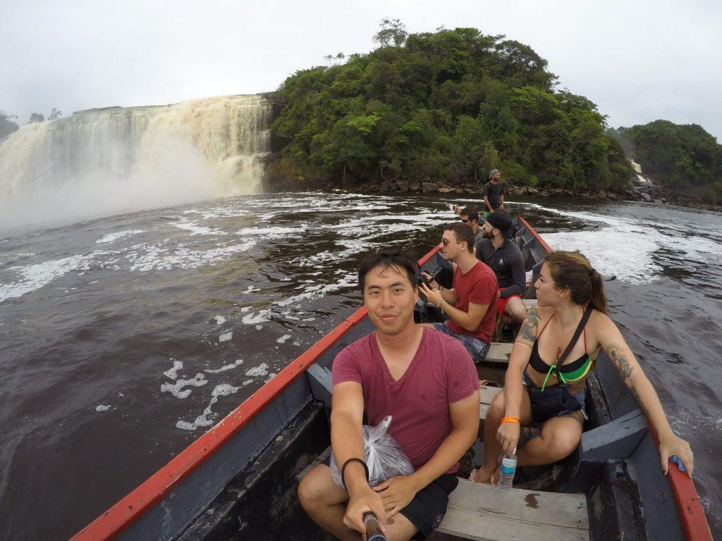 Canaima Lagoon, Exploring Salto Sapo in the Canaima Lagoon Venezuela