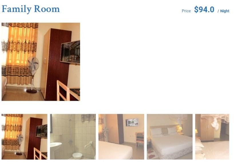 booking accommodations in rwanda