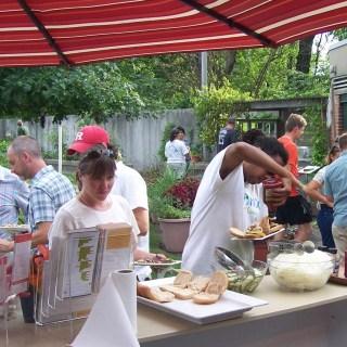 Celebrating Garden Interns with Charles Yurgalevitch