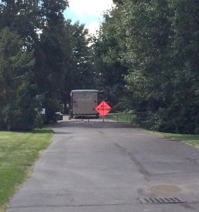 Muir Woods Emergency Fire Lane