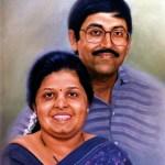 portraits- oil painting on canvas bangalore