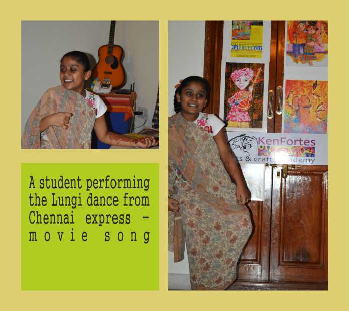 Lungi dance by kenfortes student