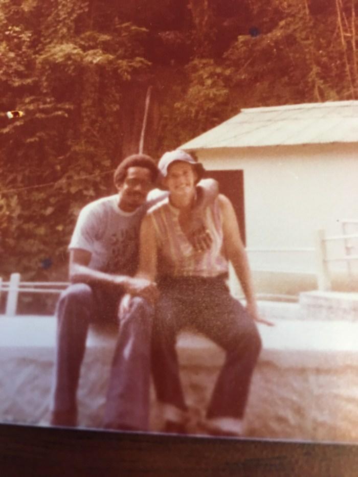 With Susan Johnson
