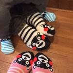 【くまモン】靴下揃えてみましたw