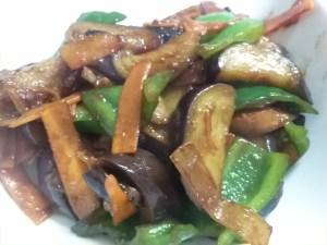 食材宅配コープデリミールキット「豚肉と茄子のみそ炒め」材料画像