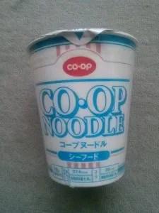 コープヌードル シーフード味