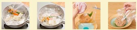 わんまいる 湯煎での解凍方法画像