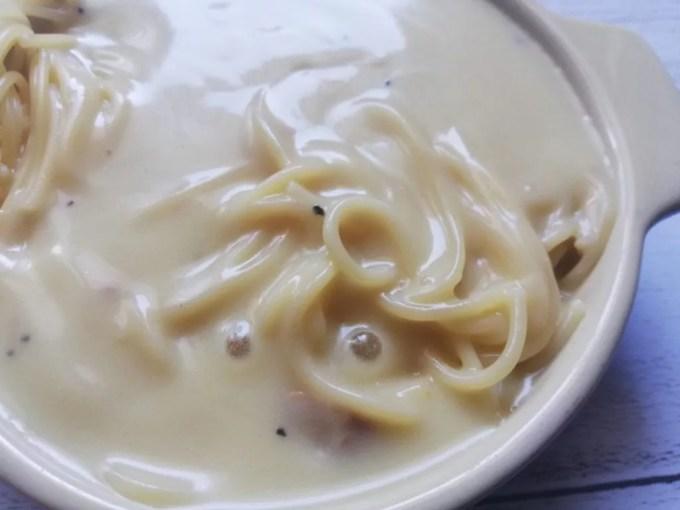 食材宅配コープデリ「カルボナーラ」