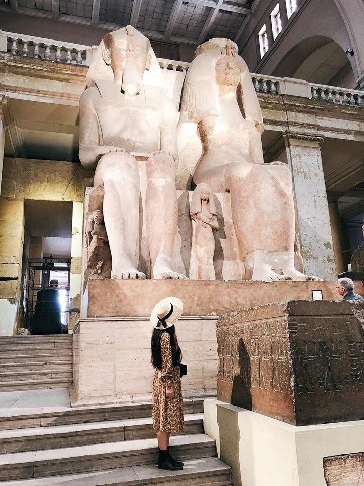 Bộ ảnh du lịch Ai Cập của cô bạn xinh đẹp: Xem xong sẽ thấy rất đáng để ước mơ ghé thăm một lần - Ảnh 28.