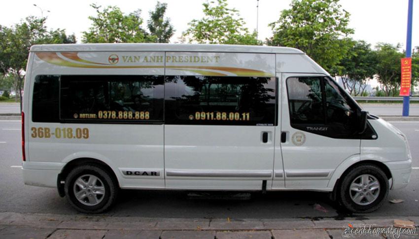 4 Xe limousine chất lượng cao tốt nhất Hà Nội - Thanh Hóa