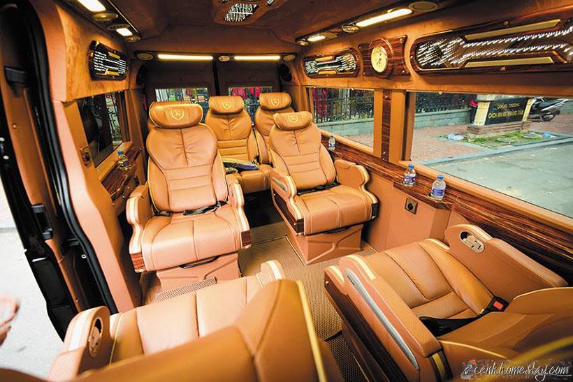 TOP Xe Limousine Tốt Nhất Sài Gòn Châu Đốc An Giang