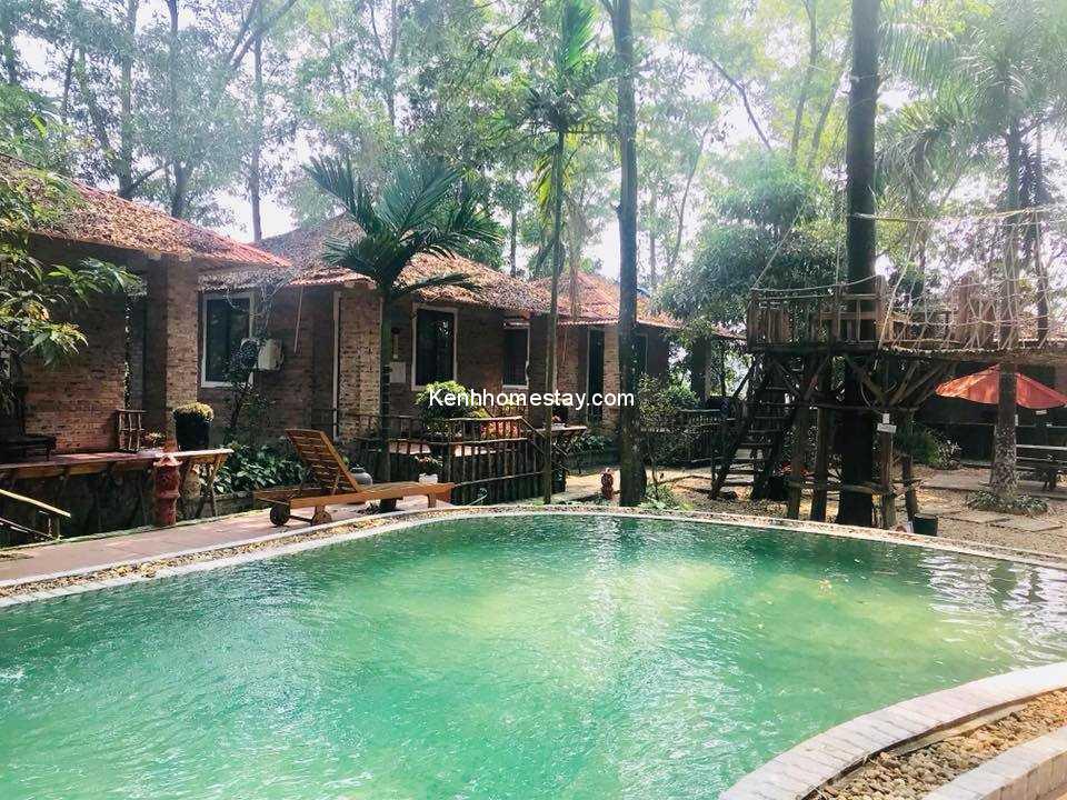 Homestay Sơn Tây The Forest - Ngôi làng nhỏ yên bình nép mình dưới những tán cây xanh mát