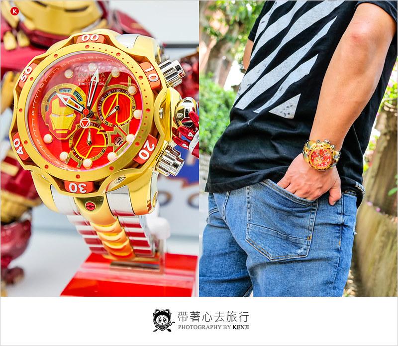 手錶開箱   INVICTA 英威塔-限量漫威聯名鋼鐵人毒蛇三代雙色鋼帶錶款,漫威迷必收藏錶款。