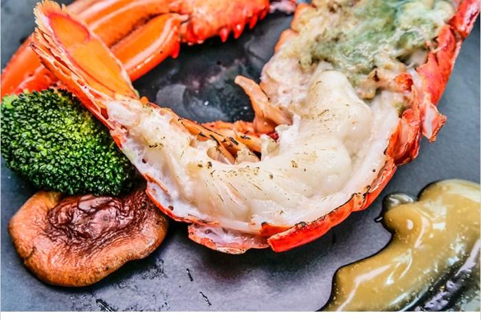 台中北屯大坑鐵板燒   上紅鐵板創意料理-霸氣活海鮮,新鮮度絕對爆表,清蒸松阪豬,Q香又脆口,超推單人龍蝦套餐,精緻食材又豐盛。