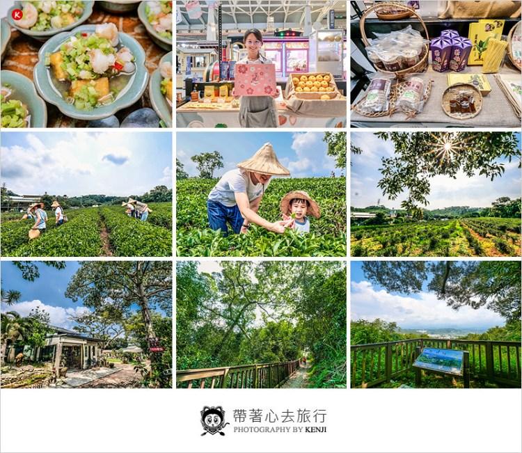 苗栗頭份一日遊 | 日新有機茶園採茶製茶新體驗,頭份後花園秘境探訪,山守現輕農市集品咖啡。