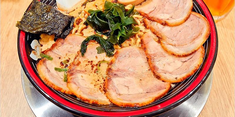 台中西區拉麵店   屯京拉麵(勤美誠品店)-來自日本東京池袋,豚骨+魚介湯頭濃香不膩口,肉食控必點大碗份量。
