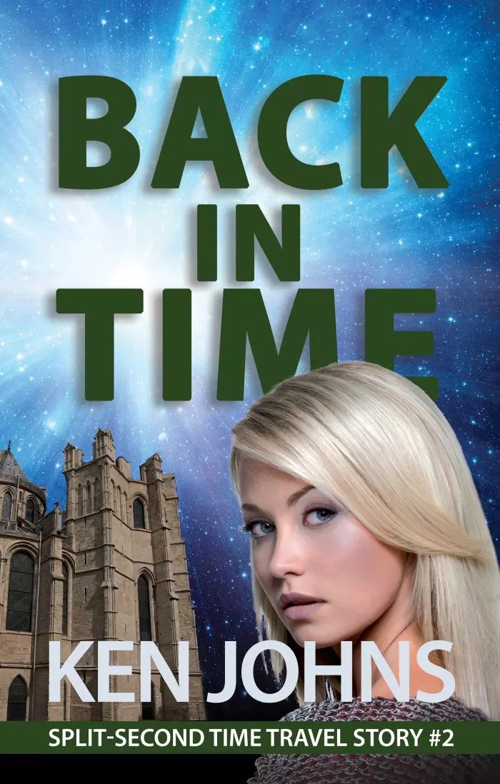 Back In Time Book Cover by Ken Johns