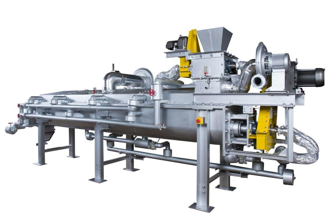 KENKI DRYER スラリー原料乾燥機 スラリー乾燥 2018.1.11