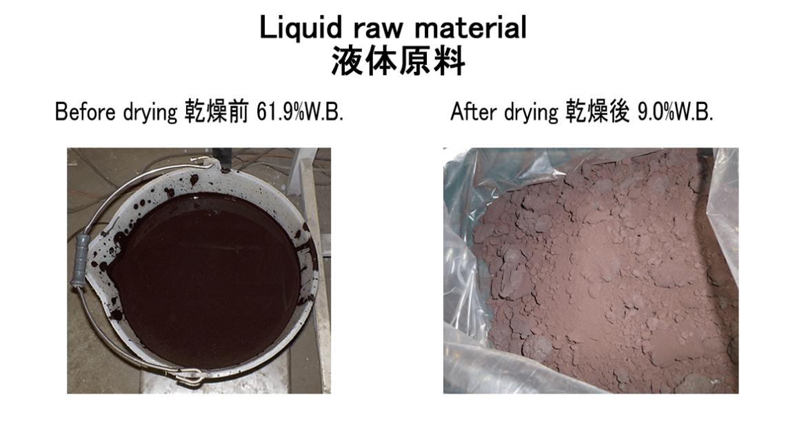 液体原料乾燥 KENKI DRYER 2020.5.14