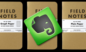 Field Notes and Evernote: Two Ubiquitous Capture Solutions