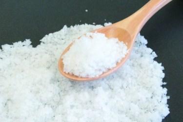 「精製塩」は体に悪いは本当!?その作り方と成分