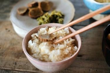 玄米は消化に時間がかかる食品!消化を良くする工夫を知ろう