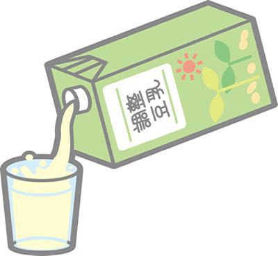 豆乳の効能 薄毛改善効果