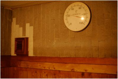 サウナの温度