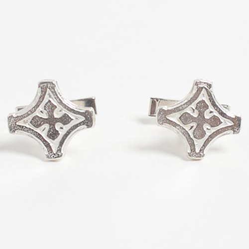 Zaru cufflinks, an original Kenly Warren cufflink design