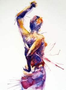flamenco dancer dynamic movement