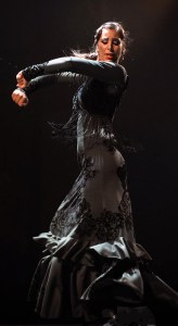 photo of flamenco woman in arm pose