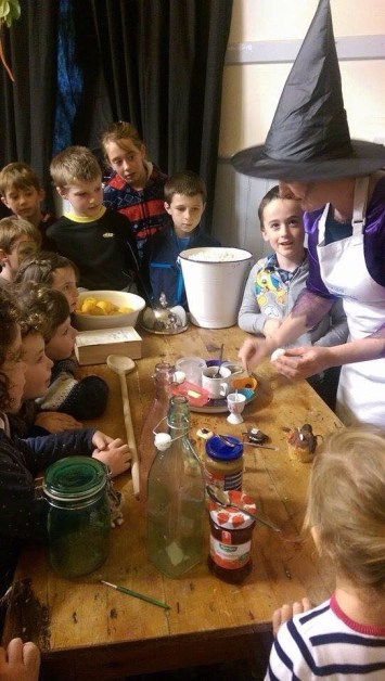 Little Foodies Haunted Kitchen Workshop, photo thanks to Nick Kavanagh