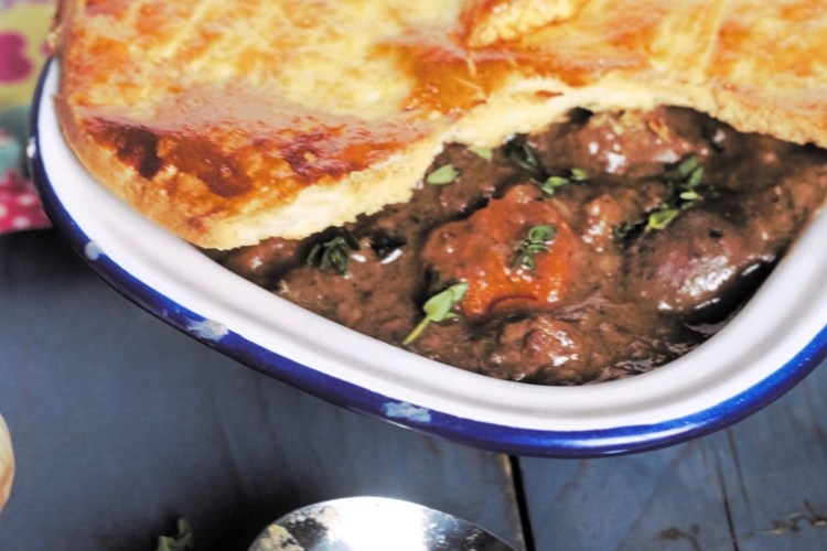 Steak and Kidney Pie with Black Garlic and Thyme | Kenmare ...