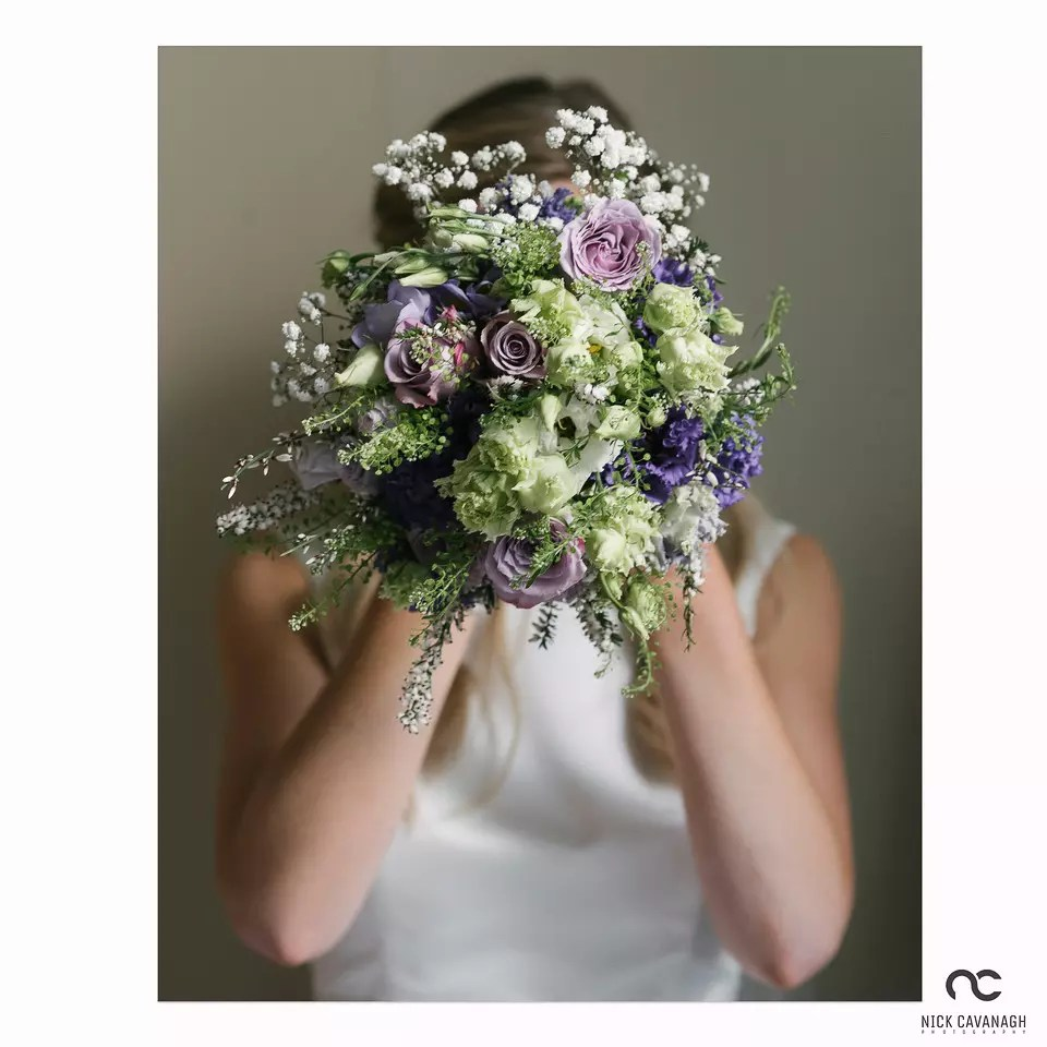 image of a bride's bouquet