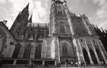 South side of Saint Vitus Cathedral