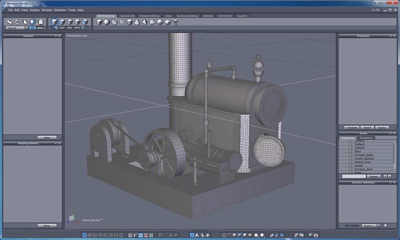 Steam Plant Engine