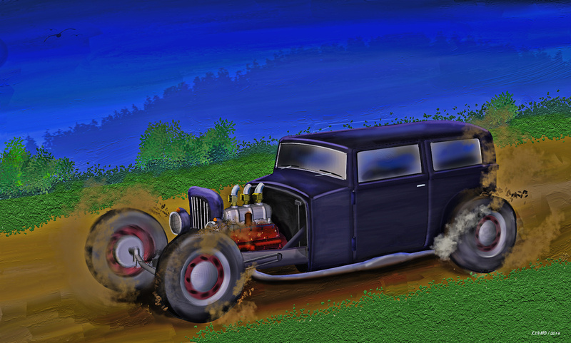 Back Road Hot Rod