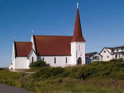 Church in Peggy's Cove